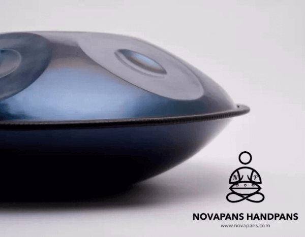 9 Note Handpan in A Phrygian Minor by NovaPans Handpans
