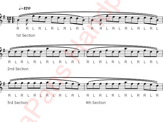 HandpanSheet Music Screenshot