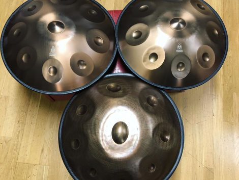 Handpan - 9 Notes. Generation 4 and 7